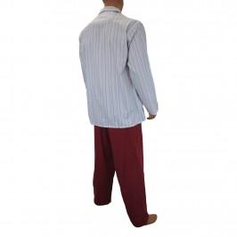 Pyjafun rayure fine Grande taille - ref :  7884 0300