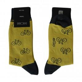 Chaussettes vélo jaune - ref :  10150245 1951