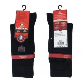 Mi-Chaussettes Laine noires - ref :  38926 8000