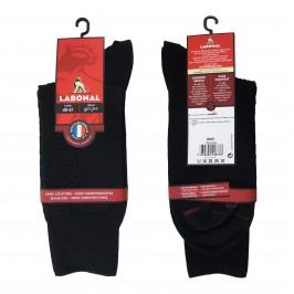 Mi-Chaussettes Laine noires - ref :  38883 8000