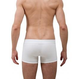 Le Boxer long tout blanc - ref :  GFBL TOUT BLANC