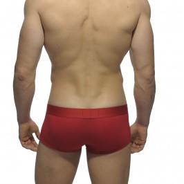 Boxer Basic Modal rouge - ref :  UN116 C06
