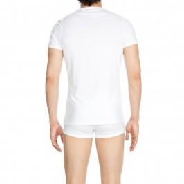 T-shirt col rond Classic blanc - HOM 400207 0003