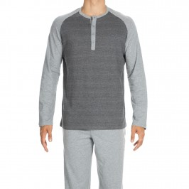Ensemble pyjama Pantalon/T-shirt Charming gris - HOM 400311 00ZU