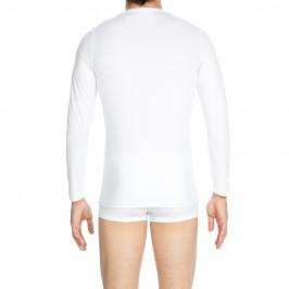 T-shirt manches longues Classic blanc - HOM 400208 0003