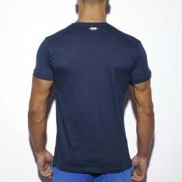 T-Shirt Basic Fitness marine - ES COLLECTION TS173 C09
