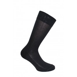 Mi-chaussettes anthracite - ref :  11110 3800