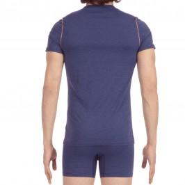 Tee-Shirt Crew Neck Sport Waves navy - HOM 400565 00RA