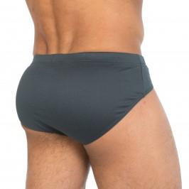 Mini Boxer Comfort Prenium Cotton gris - HOM 400287 00ZU