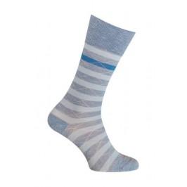 Chaussettes Coton bleu rayées - LABONAL 34613 1300