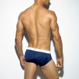 Slip de bain Sportive navy - ES COLLECTION 1712 C09