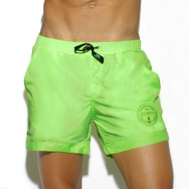 Short de bain Basic vert - ES COLLECTION 1721 C07