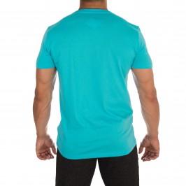 T-shirt Ck Crew Tee bleu - CALVIN KLEIN *KM0KM00111 476