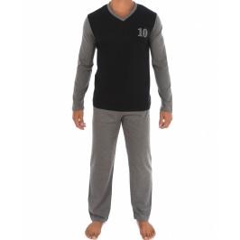 Pyjama Bicolore noir - EDEN PARK E502F19 020
