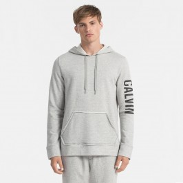 Sweat-shirt à capuche avec logo gris - CALVIN KLEIN NM1454E-080