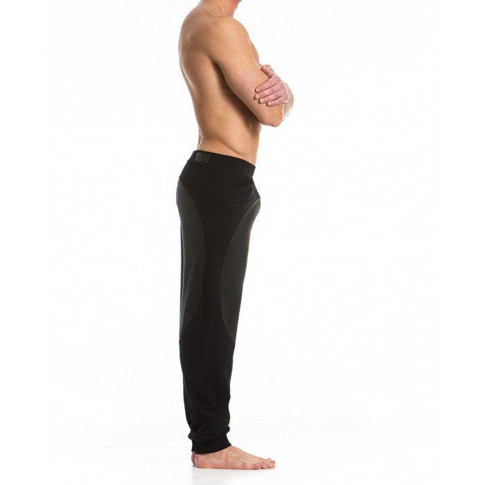 Tone 2 Tone Pants Noir -  15762 BLACK