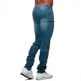 AD636 Basic  Jeans bleu jean - ADDICTED AD636 C500