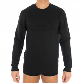 Sweat-shirt avec logo CK noir - CALVIN KLEIN 000NM1431E 001