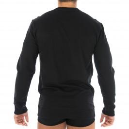Sweat-shirt avec logo CK noir - CALVIN KLEIN 000NM1431E 001