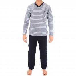 Pyjama Rayé Navy - EDEN PARK *E505E98 039