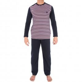 Pyjama rayé rose - EDEN PARK E501F22 D85