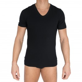 T-shirt Col V Innovation noir - IMPETUS 1351898 020