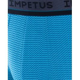Boxer imprimé turquoise - IMPETUS 2007OC2 E78