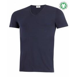 T-shirt Cotton Organic Bleu - IMPETUS GO31024 039