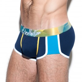 Boxer prismas waistband navy - ES COLLECTION UN254 C09