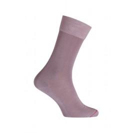 Mi-chaussettes, fil d'écosse, unies, semelle double mauve - LABONAL *11110 9940