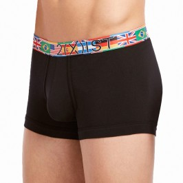 Trunk Global Games Cotton Stretch No Show noir - 2(X)IST 046933-06721