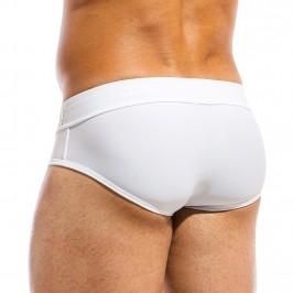 Slip de bain Brand blanc - MODUS VIVENDI BS1811 WHITE