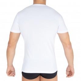 T-shirt Col V Innovation blanc - IMPETUS 1351898 001