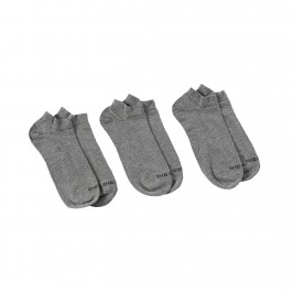 SKM-GOST-THREEPACK - Socquettes ( lot de 3 ) gris - DIESEL 00SI8H-0CASM-96X