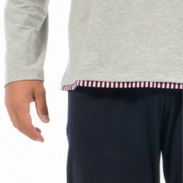 Pyjama Eden Park uni gris - EDEN PARK E516F63 507