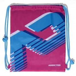 Sac de plage Addicted fushia - ADDICTED AD658 C24