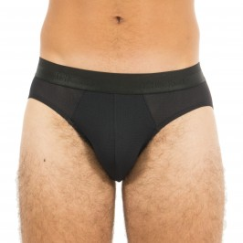 Mini Slip Ultra-Soft Mesh noir - HOM 400969 0004