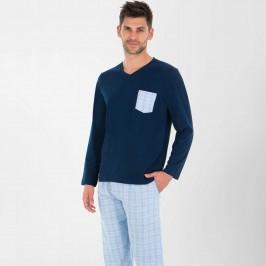 Pyjama long homme col V Tailoring Eminence - EMINENCE LP28 5017