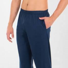 Pyjama long homme col T Tailoring Eminence - EMINENCE 7M27 4761