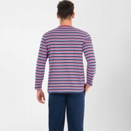 Pyjama long homme col T Casual Eminence - EMINENCE 7M55 1771