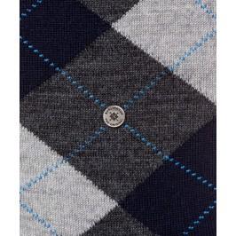 Chaussettes Edinburgh - gris/marine - BURLINGTON 21182-3194