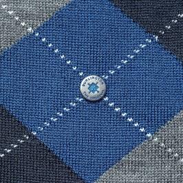 Chaussettes Edinburgh - bleu/marine/gris - BURLINGTON 21182-6051