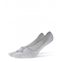 Protège-pieds Everyday 2-Pack gris - BURLINGTON 21056-3400