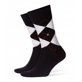 Chaussettes Argyle Night noir - BURLINGTON 20561-3000