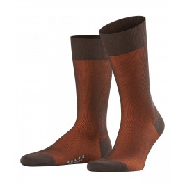 Chaussettes Fine Shadow Wool - marron - FALKE 13189-5935