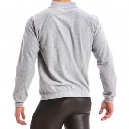 Sweat à capuche Bull - gris - MODUS VIVENDI 12851-GREY