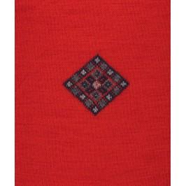 Chaussettes Losange Laine Rouge - LABONAL 38993 9200