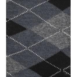 Chaussettes Intarsia Laine Bleu - LABONAL 38749 1201
