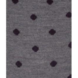 Chaussettes Pois Laine Gris - LABONAL 38995 3200