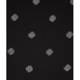 Chaussettes Pois Laine Noir - LABONAL 38995 8000